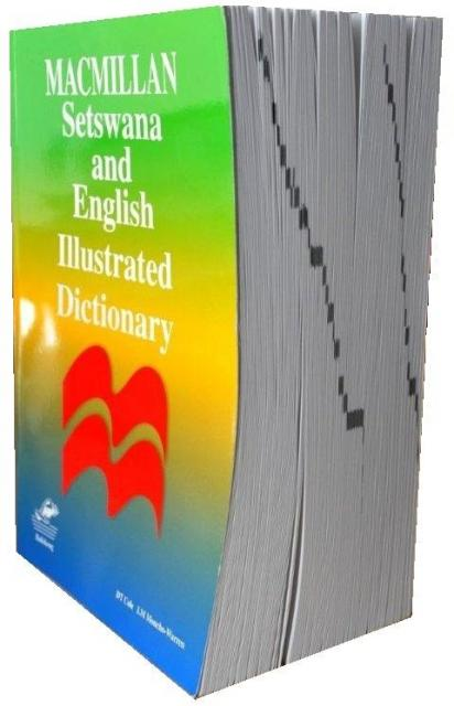 Setswana and English Illustrated Dictionary