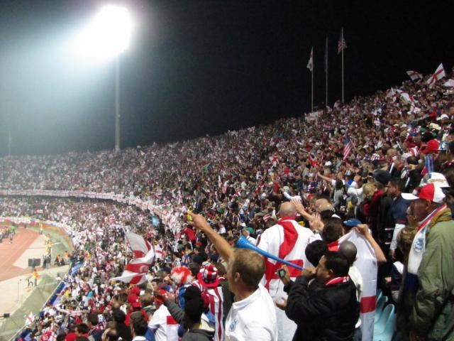 Eng v USA Supporters (2010-06-12)