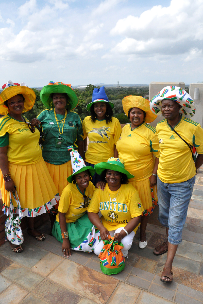 The Royal Bafokeng community members